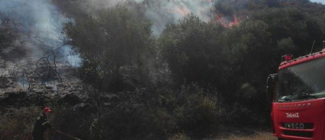 Φωτιές σε Ζάκυνθο και Κεφαλονιά