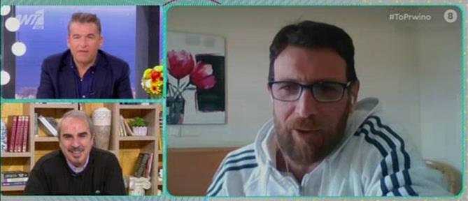 """Θανάσης Πάτρας: H συμμετοχή στην """"Φάρμα"""" και η αντίδραση της κόρης του (βίντεο)"""