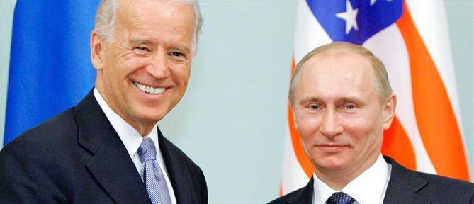 Τζο Μπάιντεν και Βλαντιμίρ Πούτιν συναντώνται για πρώτη φορά