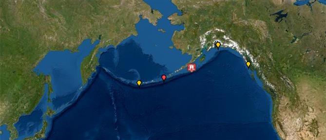 Αλάσκα: Ισχυρός σεισμός και προειδοποίηση για τσουνάμι