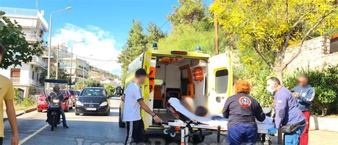 Λαμία: Φοιτήτρια παρασύρθηκε από αυτοκίνητο (εικόνες)