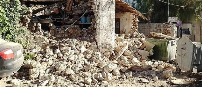 Ισχυρός σεισμός στο Ηράκλειο (εικόνες)