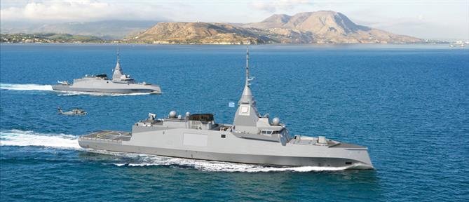Belharra: Οι νέες φρεγάτες του Πολεμικού Ναυτικού (βίντεο)