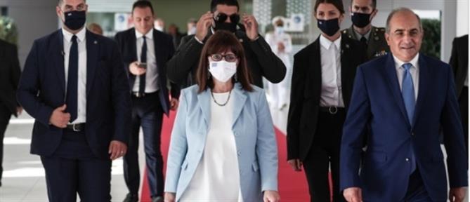 Σακελλαροπούλου - Κύπρος: Δεν θα υποκύψουμε σε απειλές και προκλήσεις