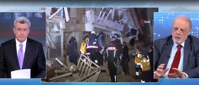 Καρύδης στον ΑΝΤ1: Μόνο οι αντισεισμικές κατασκευές μπορούν να σώσουν κόσμο από σεισμούς  (βίντεο)