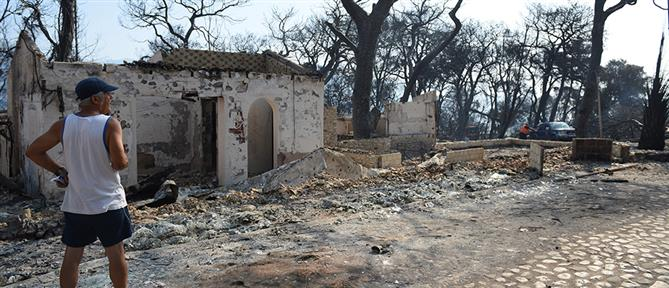 Φωτιά στην Αχαΐα – Αστεροσκοπείο: Πάνω από 3000 στρέμματα έγιναν στάχτη