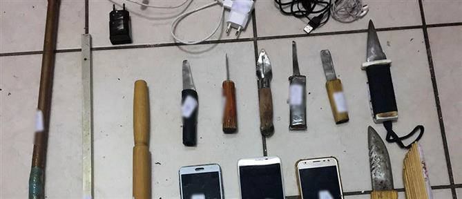 """Έφοδος των """"Ράμπο"""" της ΕΛΑΣ στις φυλακές Κορυδαλλού (εικόνες)"""