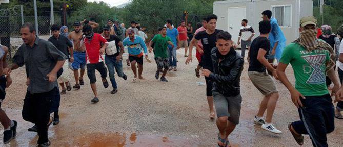 Μετανάστες επιτέθηκαν σε αστυνομικούς