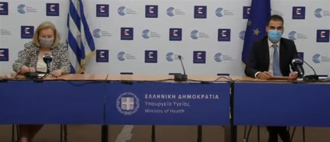 Κορονοϊός: Θεοδωρίδου και Θεμιστοκλέους για τα κρούσματα και τον εμβολιασμό (βίντεο)