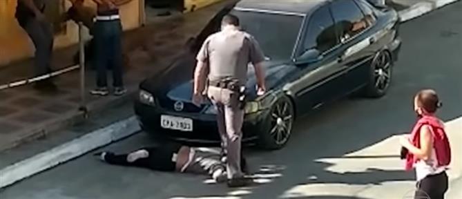 Αστυνομική βία: εικόνες - σοκ από την Βραζιλία (βίντεο)