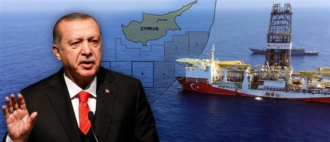 Ερντογάν: ανά πάσα στιγμή μπορεί να γίνει... οτιδήποτε στην ανατολική Μεσόγειο