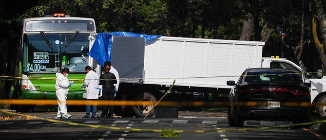 Μεξικό: Εντοπίστηκαν πτώματα σε φορτηγό
