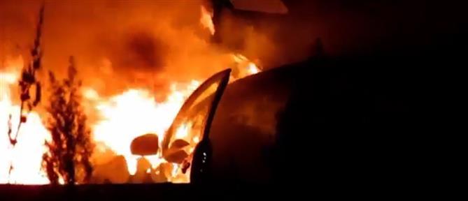 Παρανάλωμα του πυρός έγινε αυτοκίνητο