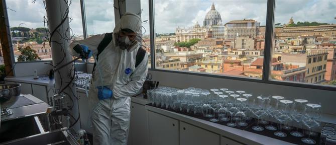 Κορονοϊός: μικρή αύξηση των νεκρών στην Ιταλία