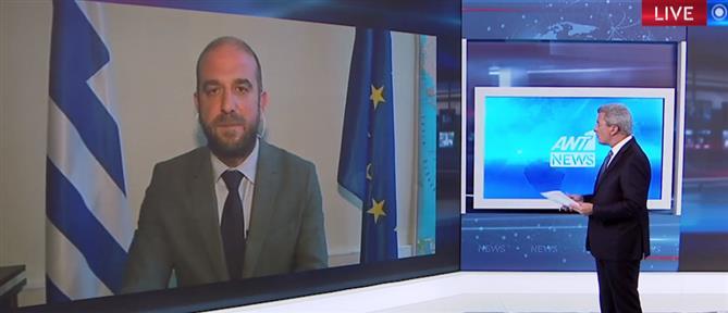 Λογοθέτης στον ΑΝΤ1: θα εξαντλήσουμε τα περιθώρια στον έλεγχο των συνόρων (βίντεο)
