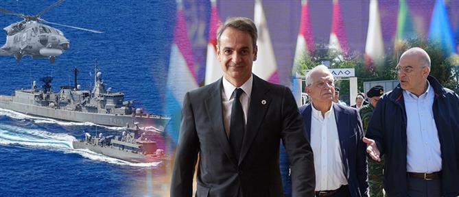 Μπορέλ: Ανησυχία για τη ναυτική κινητοποίηση στην ανατολική Μεσόγειο