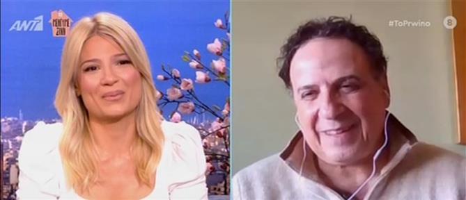 """Χάρης Ρώμας: γράφω επεισόδια για """"Το Καφέ της Χαράς"""" – Τα μηνύματα από τους πρωταγωνιστές (βίντεο)"""