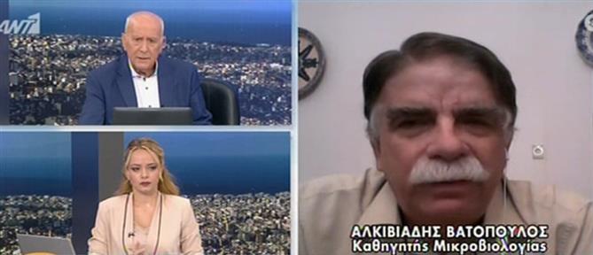 Βατόπουλος: από εμάς εξαρτάται το αν θα πάμε σε lockdown ή όχι (βίντεο)