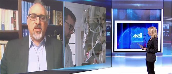 Θωμαΐδης στον ΑΝΤ1: Αύξηση του ιικού φορτίου στην Αττική (βίντεο)