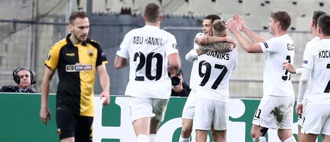 Βαριά ήττα για την ΑΕΚ στο Europa League