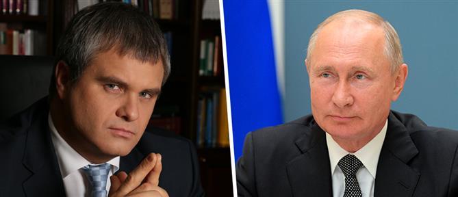 Συγγενής του Πούτιν έγινε αρχηγός πολιτικού κόμματος