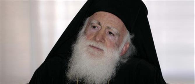 Διασωληνώθηκε ο Αρχιεπίσκοπος Κρήτης