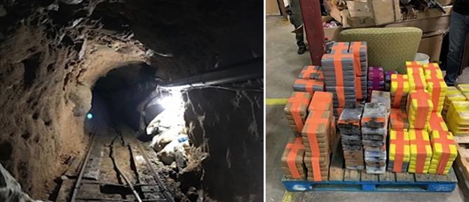 """Μεξικό: Από υπόγειο τούνελ """"περνούσαν"""" τόνους ναρκωτικών στις ΗΠΑ (εικόνες)"""