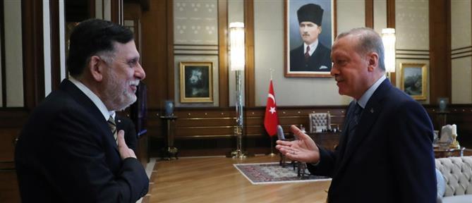 Ερντογάν: Συνεργασία με τη Λιβύη για έρευνες και γεωτρήσεις στην ανατολική Μεσόγειο