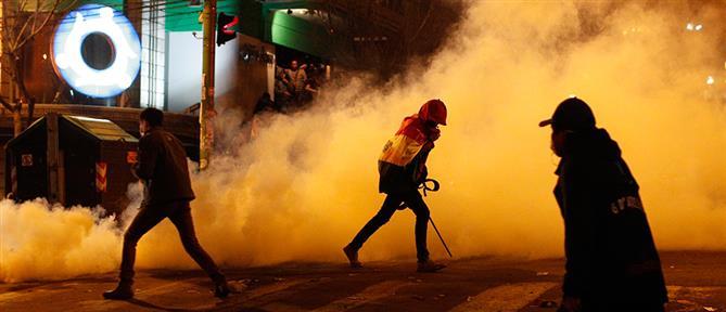 Βολιβία: Οργή διαδηλωτών για το εκλογικό αποτέλεσμα (εικόνες)