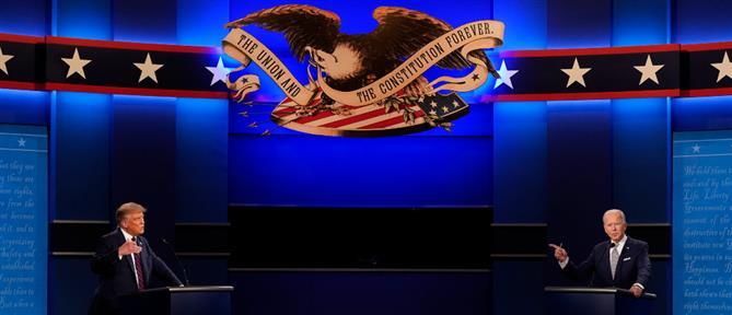 Debate Τραμπ - Μπάιντεν: ένταση και σκληρά λόγια (εικόνες)