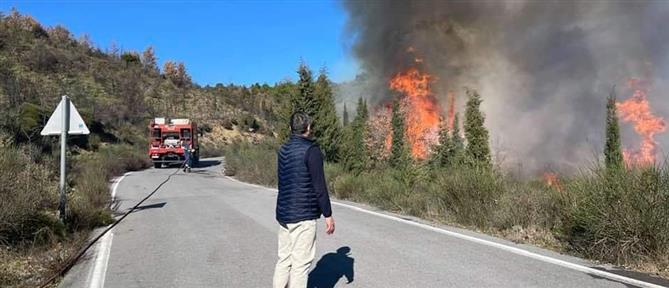 Μεγάλη φωτιά στoν Κεραστάρη