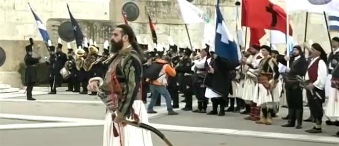 Ιερός Λόχος: Ο εορτασμός για τα 199 χρόνια από την κήρυξη της Επανάστασης (βίντεο)