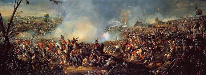 Η Μάχη του Βατερλό και το τέλος του Ναπολέοντα