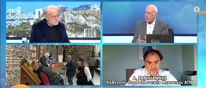 Κορονοϊός - Σαρηγιάννης: υποχρεωτικό τεστ και για τους εμβολιασμένους (βίντεο)