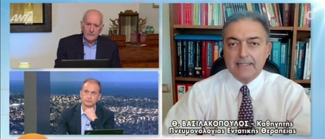 Κορονοϊός - Βασιλακόπουλος στον ΑΝΤ1: Το λιανεμπόριο να ανοίξει με ραντεβού (βίντεο)