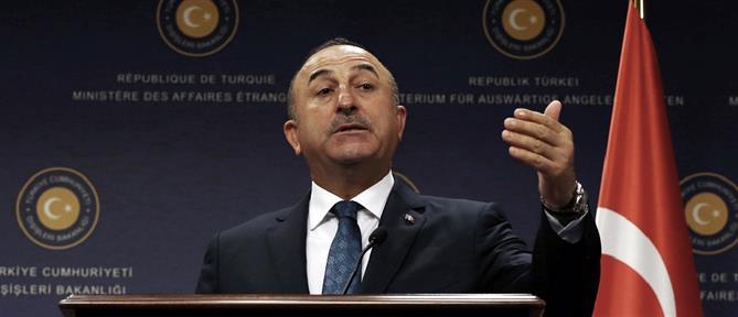 Τσαβούσογλου: η Ελλάδα δεν στήριξε την προσπάθεια για την επίλυση του Κυπριακού