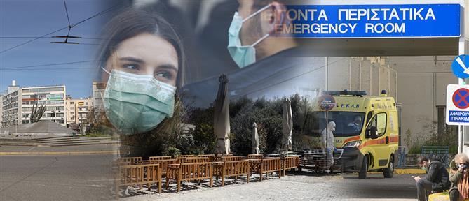 """Κορονοϊός: Ο """"χάρτης"""" των κρουσμάτων στην Ελλάδα"""