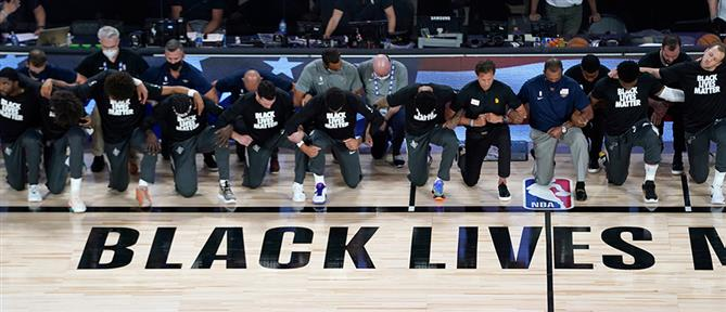 "NBA: έναρξη με υπόκλιση στο κίνημα ""Black Lives Matter"" (εικόνες)"