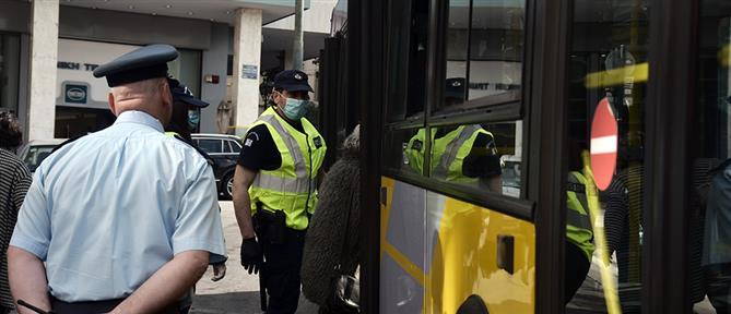 """Κορονοϊός: """"Αγώνας δρόμου"""" για την αποσυμφόρηση στα μέσα μαζικής μεταφοράς (βίντεο)"""