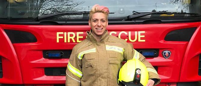 Άφησε τις επιχειρήσεις της στην Καλαμάτα για την… Πυροσβεστική στο Έσσεξ! (εικόνες)
