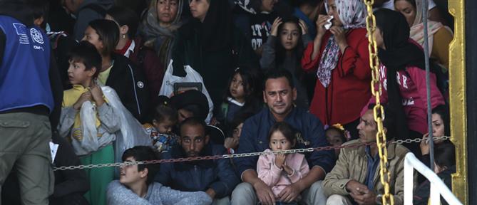 Πειραιάς: άλλοι 58 μετανάστες και πρόσφυγες από τα νησιά στην ενδοχώρα