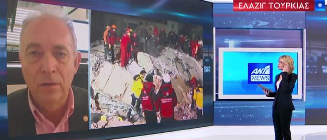 Λέκκας στον ΑΝΤ1: πολύπλοκη η σεισμική δραστηριότητα στην Τουρκία (βίντεο)
