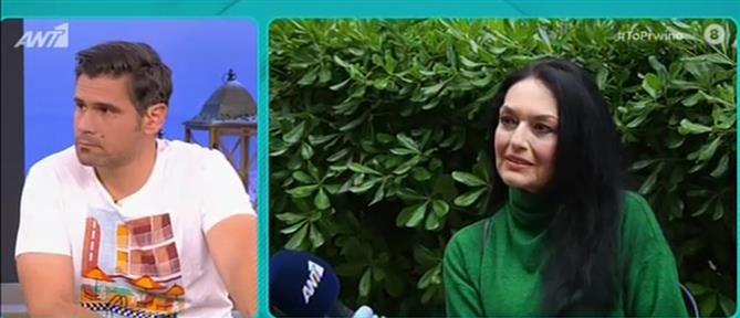 Ελένη Φιλίνη: ήμουν πάντα ριγμένη ως ηθοποιός (βίντεο)