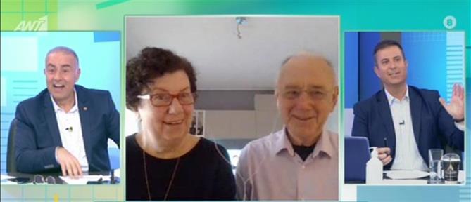 Καραντίνα σε... διαδικτυακά θρανία για ηλικιωμένους (βίντεο)