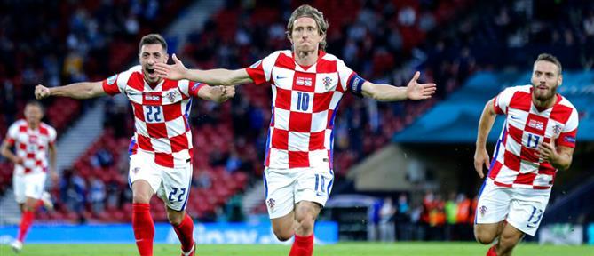 "Euro 2020: Η Κροατία ""καθάρισε"" την Σκωτία και πήρε τη 2η θέση (βίντεο)"