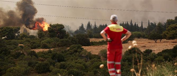 Φωτιά στη Βαρυμπόμπη: Εκτάκτως στο Συντονιστικό Κέντρο Επιχειρήσεων της Πυροσβεστικής ο Μητσοτάκης