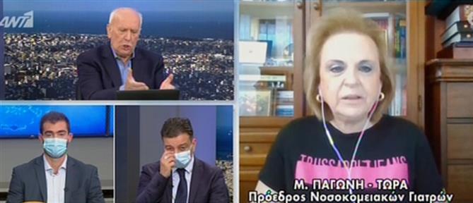Κορονοϊός - Παγώνη στον ΑΝΤ1: Οριακά οι αντοχές του ΕΣΥ (βίντεο)
