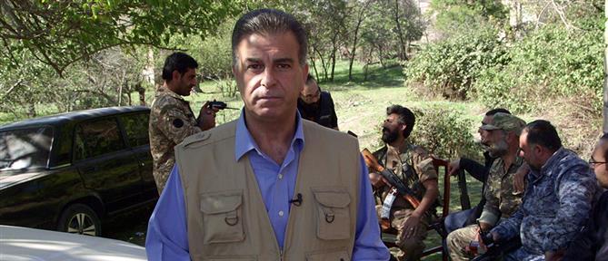 """Special Report"": ο Νικόλας Βαφειάδης στην εμπόλεμη ζώνη του Ναγκόρνο - Καραμπάχ (εικόνες)"