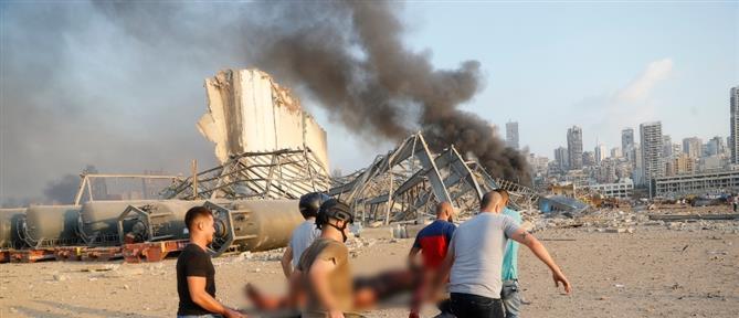 Τσίπρας: συλλυπητήρια και αλληλεγγύη στον λαό του Λιβάνου