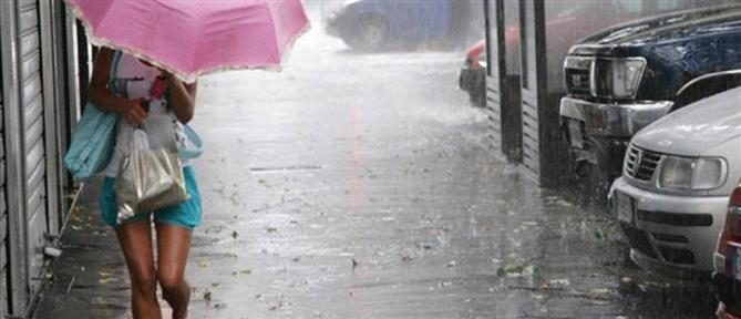 Καιρός: Καταιγίδες, ισχυροί άνεμοι και χαλάζι την Τετάρτη